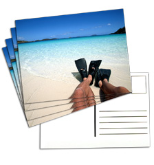 Postcardlabel